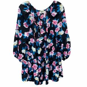 Show me Your Mumu Floral Tiered Babydoll Boho S